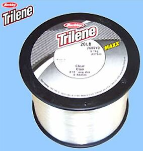 Berkley trilene maxx ultimate mono 20 lb test clear for 20 lb fishing line