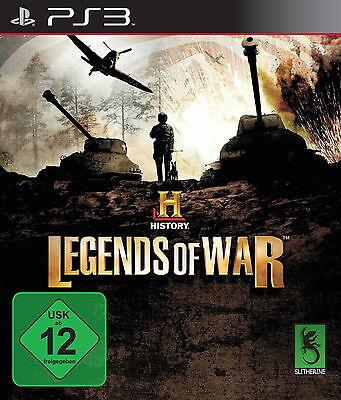 History: Legends of War (Sony PlayStation 3, 2013, DVD-Box)