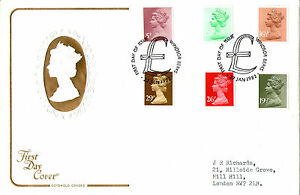 27-JANUARY-1982-ALL-6-DEFINITIVE-VALUES-COTSWOLD-FIRST-DAY-COVER-WINDSOR-SHS
