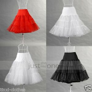 24-034-Rock-n-Roll-Net-Skirt-50s-Vintage-Petticoat-Retro-Underskirt-Fancy-Tutu