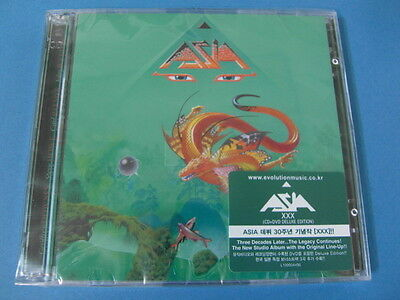 ASIA - XXX [DELUXE] CD & DVD W/BONUS TRACKS (SEALED) $2.99 S&H
