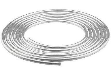 "PRE-750025  25 Foot Roll Of 1/2"" Aluminum Fuel Line Tubing Hose"