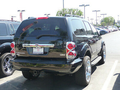 Tail Light Insert Accents Chrome ABS For 2004-2010 Dodge Durango SUV