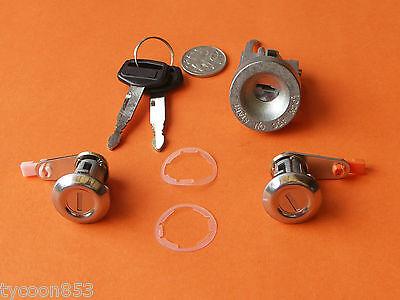 IGNITION BARREL & 2 DOOR LOCKS SUIT HILUX LN55 56 60 61 65 YN55-67 + 4RUNNER