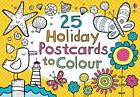 25 Postcards to Colour on Holiday by Usborne Publishing Ltd (Paperback, 2012)
