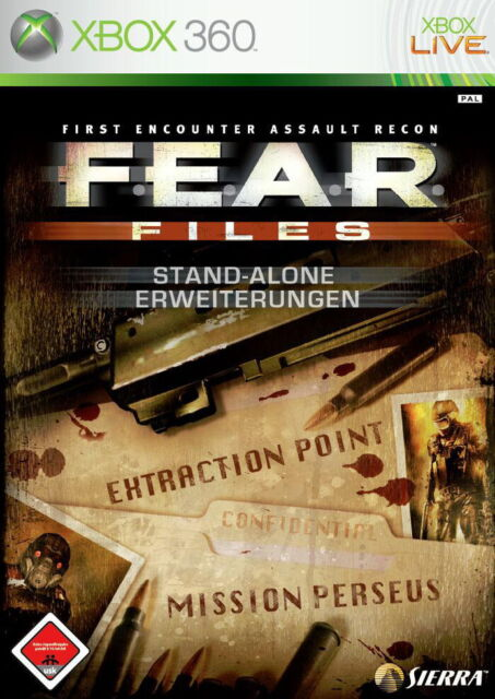 F.E.A.R. Files (Extraction Point + Mission Perseus) [video game]