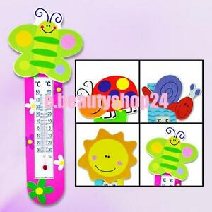 Lovely-Woodiness-Cartoon-Coloured-Fridge-Magnet-Magnetic-Stick-Thermometer