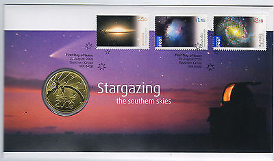 2009 Stargazing PNC with one dollar coin