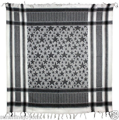 Stars Keffiyeh Hipster Hip-Hop Square or Triangle Scarf