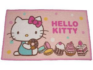 Nwt Sanrio Hello Kitty Mini Bath Bathroom Door Floor Mat