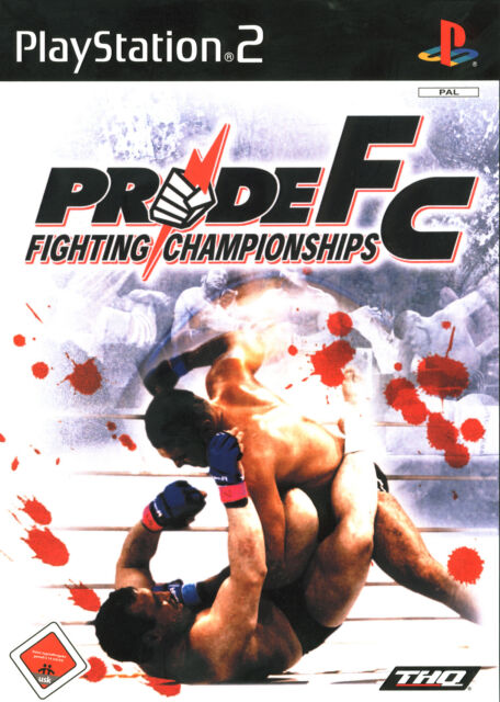 Pride FC Fighting Championships mit Anleitung (PS2) - USK 18