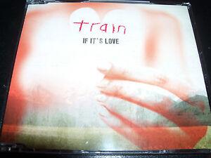 Train-If-It-s-Love-Rare-Australian-2-Track-CD-Single-NEW