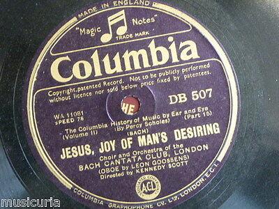78 BACH jesu joy of mans [ leon goossens ] rondeau & badinare [ robert murchie ]