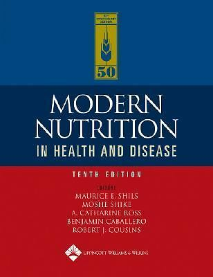 Modern Nutrition in Health and Disease (2005, Hardcover, Revised)