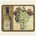 Highland Graphics Tempered Glass Cutting Wine Cheese Board 8x10 Chateau - SMCUT185