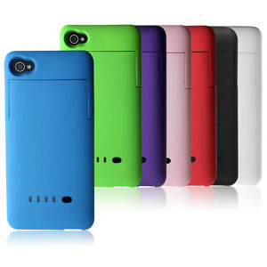 New-External-Backup-Power-Battery-Charging-Case-Cover-For-Apple-iPhone-4-4s