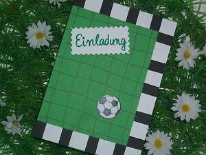 fußball karte einladungskarte einladung grußkarten geburtstag, Einladung