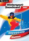 Wintersport: Snowboard 2007 (Bonus: Biathlon) (PC, 2006, DVD-Box)