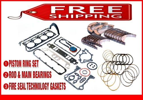 *Engine Re-Ring Re-Main Kit*  Ford 351W 5.8L OHV V8 Windsor  83 84 85 86