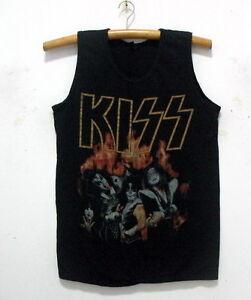 New-KISS-band-singlet-tank-top-shirt-vintage-punk-rock-tour-38-034-L