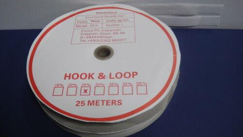siehe Auswahl Grundpreis je Meter Klettband zum Aufnähen und selbstklebend