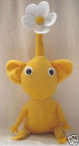 Lot-of-2pcs-12-034-Handmade-PIKMIN-2-Plush-Doll-Yellow-Flower-Toy-X-039-MAS-Gift