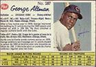 1962 Post George Altman #187 Baseball Card