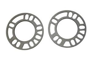 3mm-Alloy-Wheel-Spacers-Shims-Pair-Universal-SET-OF-2-4x100-4x108-4x114-3
