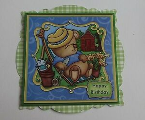 PK2-HAPPY-BIRTHDAY-HARD-LIFE-IN-GARDEN-TOPPER-EMBELLISHMENTS-FOR-CARDS-CRAFTS