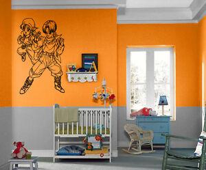 Dragon Ball Z Cartoon Anime Manga Kids Decor Wall Mural Vinyl - Dragon ball z wall decals