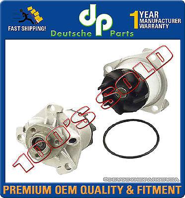 VW VR6 V6 2.8 WATER PUMP + METAL IMPELLER + Gasket 021121004X 021121004A SET