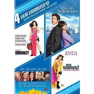 4 Film Favorites Sandra Bullock comedy Collection (DVD2-Disc Set) New, Free ship