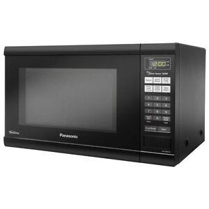 Image Is Loading Panasonic Nn Sn651b 1200 Watt Microwave Oven