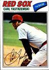 1977 Topps Carl Yastrzemski Boston Red Sox #480 Baseball Card