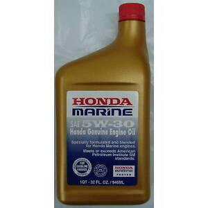 08207-5W30M Honda Marine SAE 5W30 4-Stroke Outboard Engine Oil - Quart   eBay