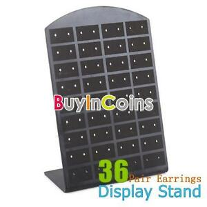 36-Pair-Jewelry-Holder-Organizer-Earrings-Display-Stand