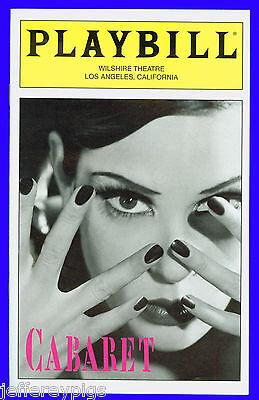 Playbill + Cabaret + Teri Hatcher , Norbert Leo Butz , Dick Latessa, Andy Taylor