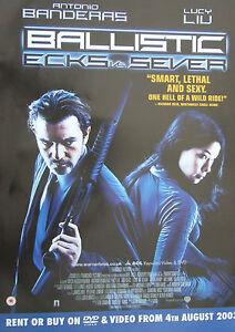 Antonio-Banderas-BALLISTIC-ECKS-V-SEVER-2002-Original-video-release-poster