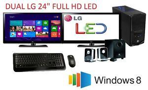 Intel-Core-i7-4790-QUAD-8GB-2TB-HDD-DUAL-24-034-LED-GT610-1GB-GRAPHICS-USB3