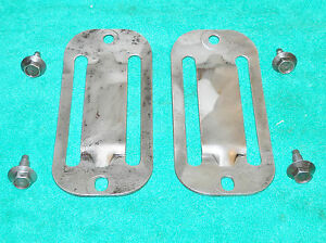 1960-Lincoln-Premiere-Continental-REAR-END-AXLE-to-FRAME-BUMPER-SNUBBER-BRACKETS
