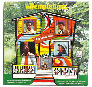 Sealed Temptations Psychedelic Shack Lp Motown Records