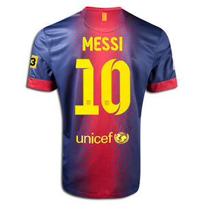 809c75d22 Image is loading NIKE-FC-BARCELONA-MESSI-YOUTH-HOME-JERSEY-2012-