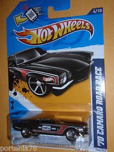 2012-Hot-Wheels-70-CAMARO-ROAD-RACE-144-247-HW-Performance-BLACK