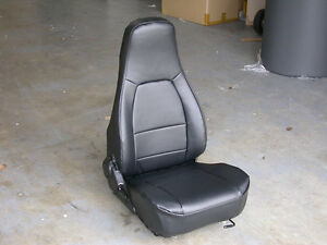 Mazda Miata 1990 2008 Iggee S Leather Custom Seat Cover 13