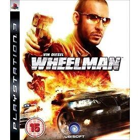 Vin Diesel Wheelman (Sony PlayStation 3, 2009) PS3 Game