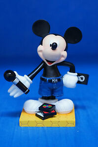 """Mickey In the Park 6"""" Resin Figurine Disney Inspearations 75th 19503 Retired"""