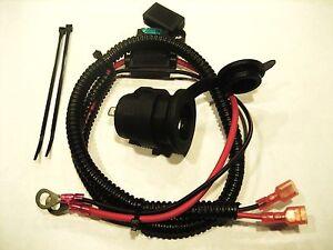 Motorcycle-Marine-Cigarette-Lighter-12-V-Accessory-Socket-Outlet-fuse-cable