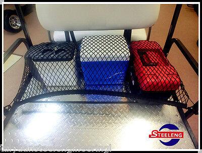 Universal Golf Cart Rear Flip Seat Cargo Bed/Box Utility Nylon Net EZGO Club Car