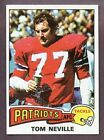 1975 Topps Tom Neville #493 Football Card