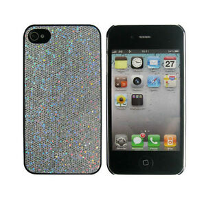 Fashion-Charm-Silver-Shining-Diamond-Pattern-Skin-Case-Cover-For-iPhone-4-4S